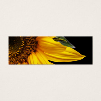 Sunflowers - Sunflower Customized Template Blank Mini Business Card