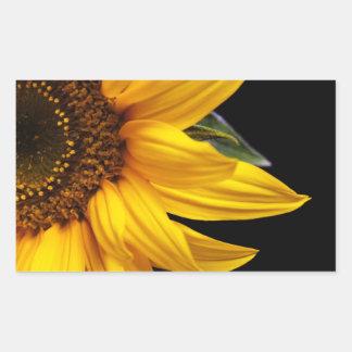 Sunflowers - Sunflower Customized Template Blank Rectangular Sticker