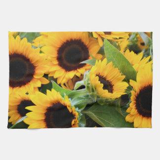 Sunflowers Tea Towel