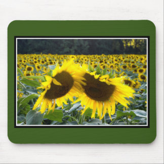 Sunflowers Together Mousepad by Thomas Minutolo