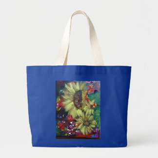 sunflowers tote