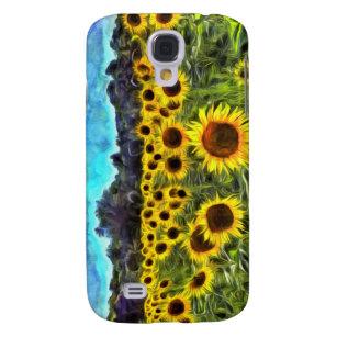 Sunflowers Van Goth Galaxy S4 Cover