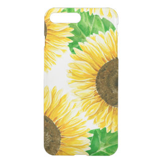 Sunflowers watercolor iPhone 8 plus/7 plus case