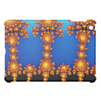 Sunflowers White flowers Cover For The iPad Mini