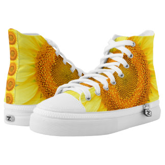 Sunflowers Zipz High Top Shoes Sneakers