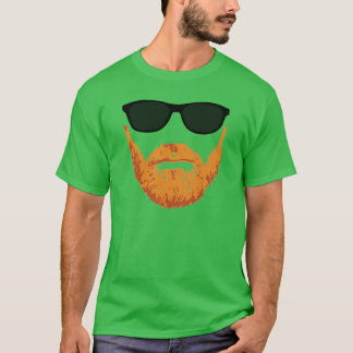 Sunglasses and Red Head Beard T-Shirt