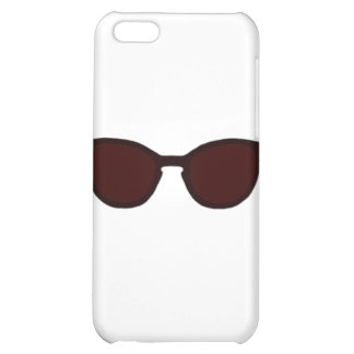Sunglasses Brown Rim Brown Lens The MUSEUM Zazzle Cover For iPhone 5C