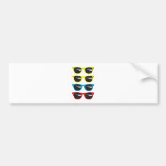 Sunglasses Bumper Stickers