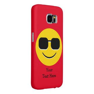 Sunglasses Mr. Cool Emoji Samsung Galaxy S6 Cases