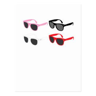 Sunglasses Post Card