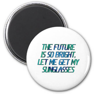 sunglsses 6 cm round magnet