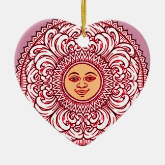 Sunhine 3 ceramic ornament