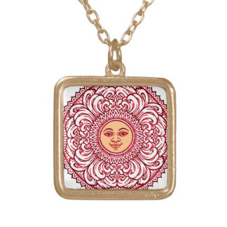 Sunhine 3 gold plated necklace