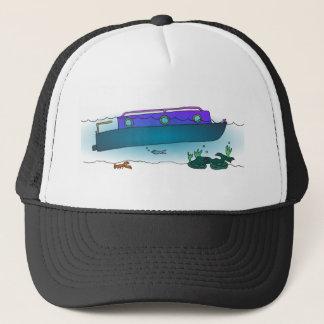 Sunken Narrowboat Trucker Hat