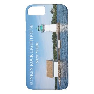 Sunken Rock Lighthouse, New York iPhone 8/7 Case