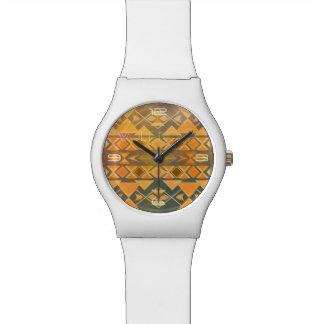 Sunkissed Aztec Design Watch