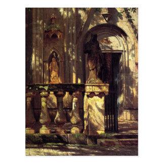 Sunlight and Shadow Study by Albert Bierstadt Postcard