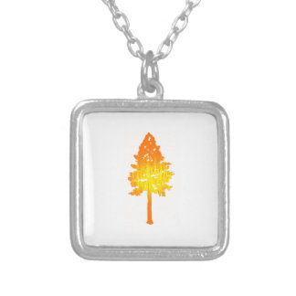 Sunlight Breaking Silver Plated Necklace