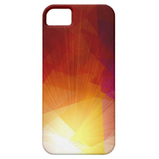Sunlight cubism abstract art iPhone 5 cover