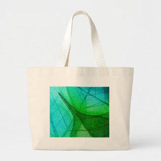 Sunlight Filtering Through Transparent Leaves Large Tote Bag