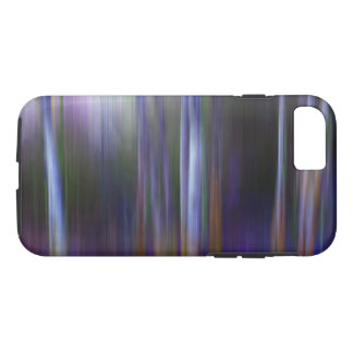 Sunlight in a Blue Wood abstract image Phone Case