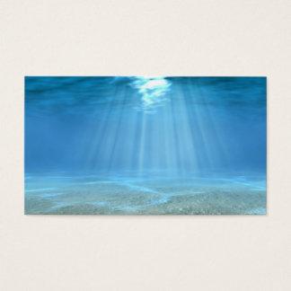 Sunlight In Ocean Business Card