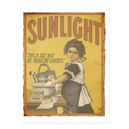 Sunlight Soap - 1873 Post Card