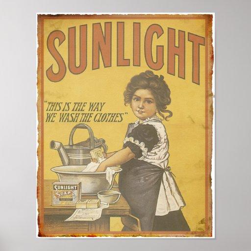 Sunlight Soap - 1873 Poster
