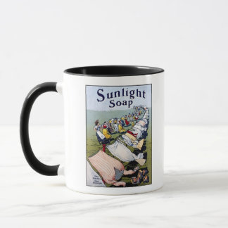 Sunlight Soap Ad Mug