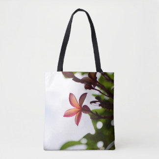 Sunlight Through Plumeria Petals Tote