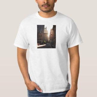 Sunlight Through Skyscrapers, New York City Tee Shirts