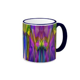 Sunlight Through the Clerestory Stained-Glass Look Ringer Mug