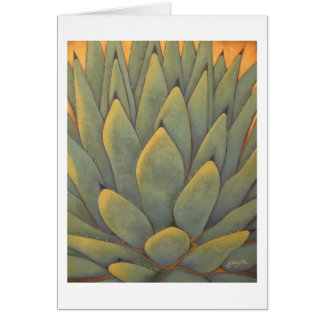Sunlit Agave Card
