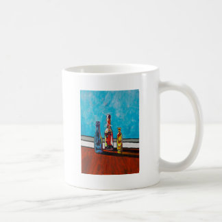 Sunlit Bottles Coffee Mug