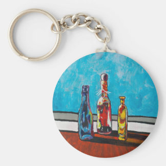 Sunlit Bottles Key Ring