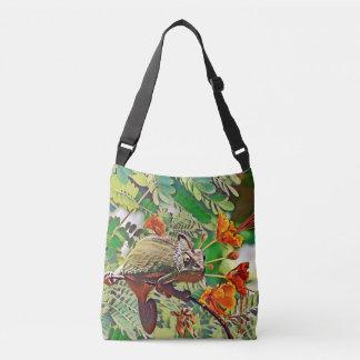 Sunlit Chameleon Crossbody Bag