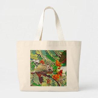 Sunlit Chameleon Large Tote Bag