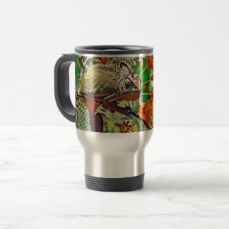 Sunlit Chameleon Travel Mug