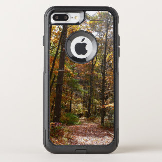 Sunlit Fall Trail in Laurel Hill State Park OtterBox Commuter iPhone 8 Plus/7 Plus Case
