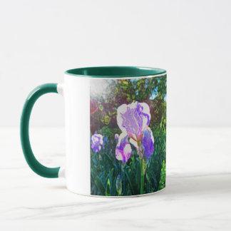 """Sunlit Iris"" Mug"
