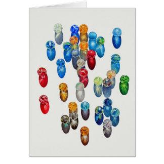 Sunlit Marbles Card