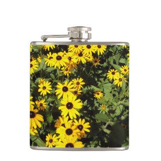 Sunlit Meadow Hip Flask