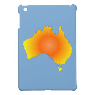 Sunny Australia Map iPad Mini Covers