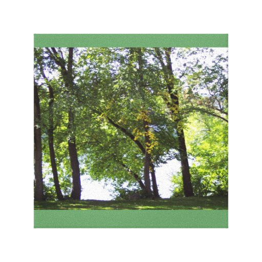 Sunny Autumn Day Canvas Prints