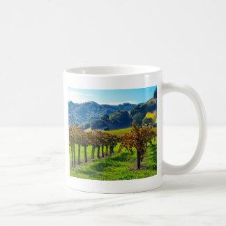 Sunny Autumn Vineyard Mug