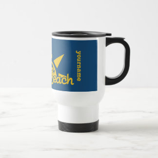 Sunny Beach BULGARIA custom monogram & color mugs