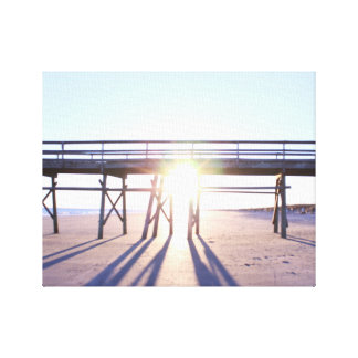 Sunny Beach Photo Canvas Print