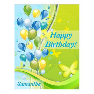 Sunny Birthday Postcard