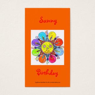 Sunny Birthday Series #1