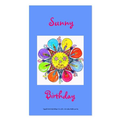 Sunny Birthday Series #3 Business Card